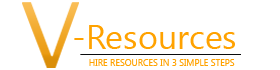 V-resource logo